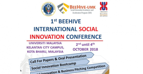 1st Beehive International Social Innovation Conference in Malaysia