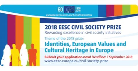 2018 EESC Civil Society Prize