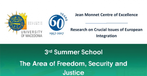 3rd Summer School The Area of Freedom, Security and Justice 2018 in Greece