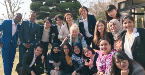 Awaji Youth Federation Fellowship 2019 in Japan