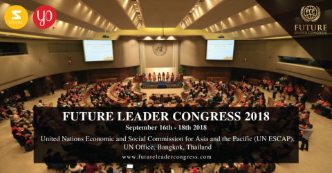 Future Leader Congress 2018 at UN, Thailand
