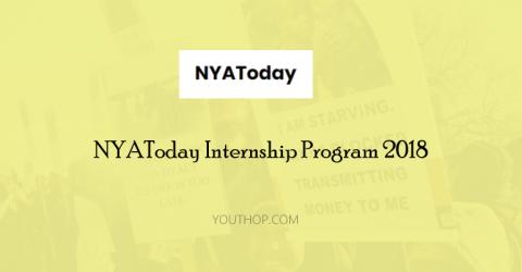NYAToday Internship Program 2018