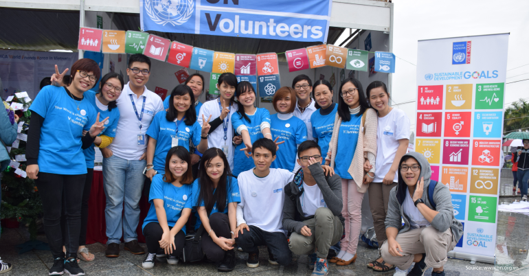UN Volunteer in Social Media