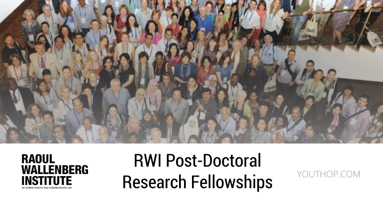 RWI Post-Doctoral Research Fellowships - Youth Opportunities