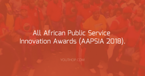 The All African Public Service Innovation Awards (AAPSIA 2018).