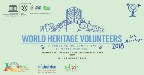 UNESCO WHV 2018 – Let's Heritage at Champaner Hills, India