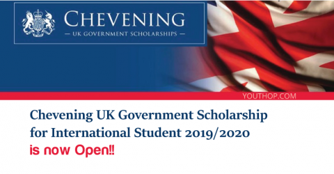 British Chevening Scholarship for International Student 2019/2020 in UK