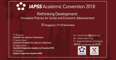 IAPSS Academic Convention 2018 in Singapore