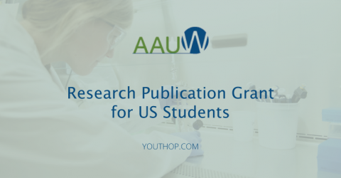 AAUW Research Publication Grant 2018 for US Students