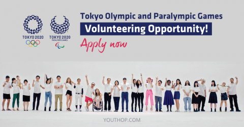 Call for Volunteers: Tokyo Olympic and Paralympic Games 2020
