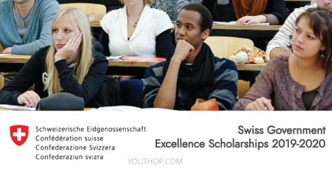 Swiss Government Excellence Scholarships 2019-2020 for Foreign Scholars and Artists