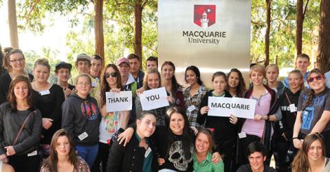 The Macquarie University Vice-Chancellor's International Scholarship in Australia