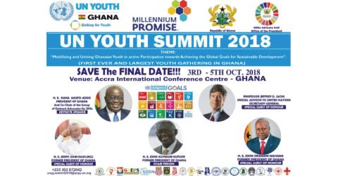 UN Youth Summit 2018 in Ghana