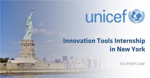UNICEF Innovation Tools Internship 2018 in New York