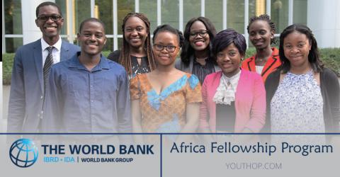 World Bank Group Africa Fellowship Program 2019