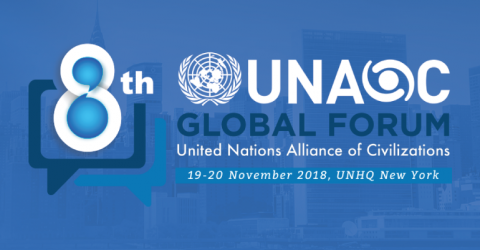 8th UNAOC Global Forum 2018 at UN HQ in New York