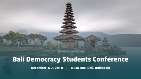 Bali Democracy Students Conference (BDSC) 2018 in Indonesia