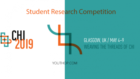 CHI 2019- Student Research Competition in UK