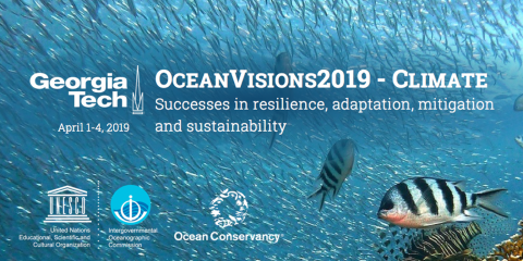 OceanVisions2019 – Climate Summit at Georgia Tech in USA