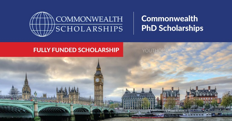 Fully Funded Commonwealth PhD Scholarships 2019 in UK