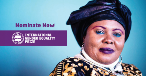 Call for Nominations: 2019 International Gender Equality Prize
