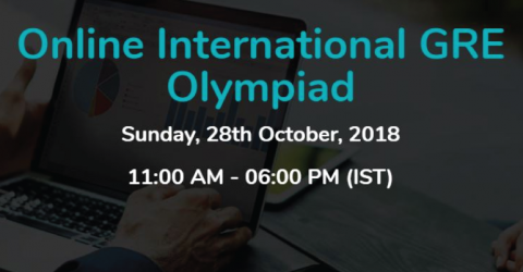 International Online GRE Olympiad 2018 and Get Scholarships