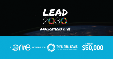 One Young World Lead2030 Challenges (Win $50,000)