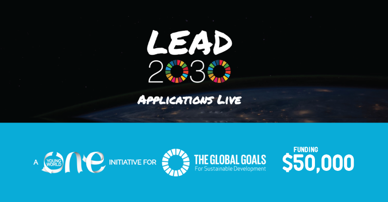 One Young World Lead2030 Challenges ($50,000 Funding)