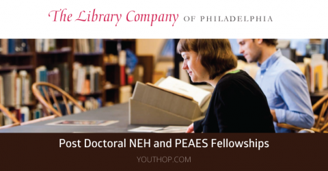 Post Doctoral NEH and PEAES Fellowships 2019-20 in USA