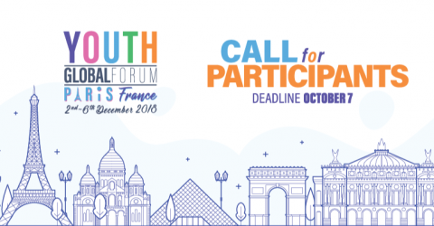 The Youth Global Forum in Paris 2018: Call for Participants and Project Presenters