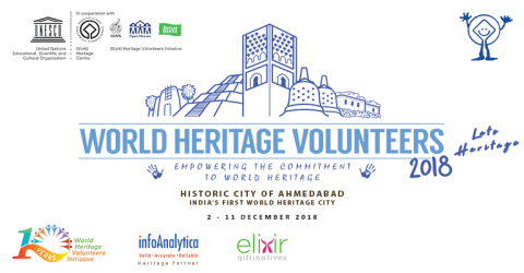 UNESCO WHV 2018 – Let's Heritage at Historic City of Ahmedabad, India