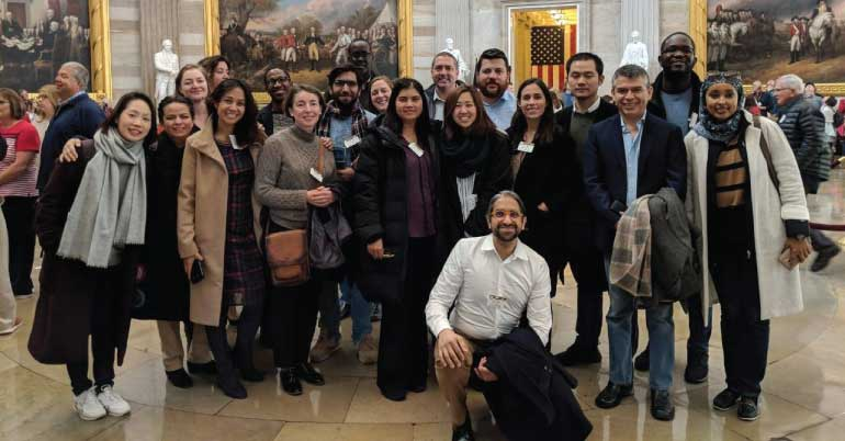 Yale Maurice R  Greenberg World Fellows Program 2019 in USA