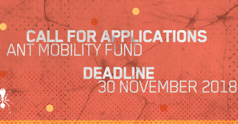 ANT Mobility Fund 2019 for Individual Artists/Arts Professionals
