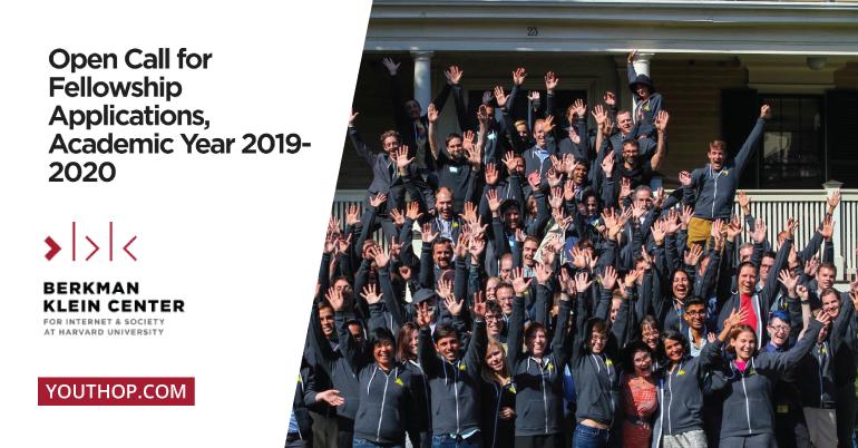 Call for Applications: Berkman Klein Center Fellowship 2019- 2020