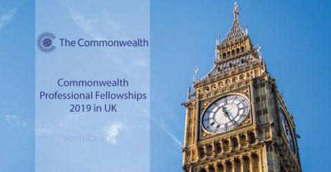 Commonwealth Professional Fellowships 2019 in UK