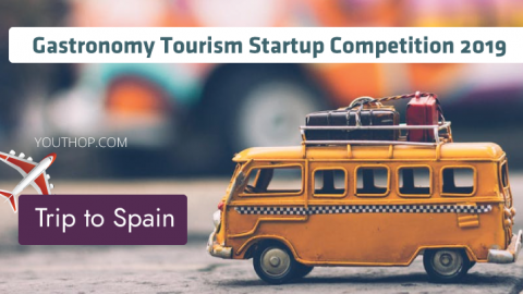 Gastronomy Tourism Startup Competition 2019 (Win a Sponsored Trip to Spain)