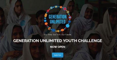 Generation Unlimited Youth Challenge for Pakistani