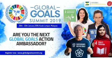 Global Goals Summit 2019 in Kuala Lumpur, Malaysia