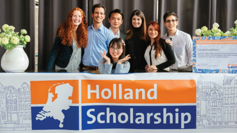 Bachelor's & Masters in the Netherlands – Holland Scholarship 2019-20