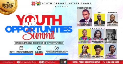Youth Opportunities Ghana Summit 2018