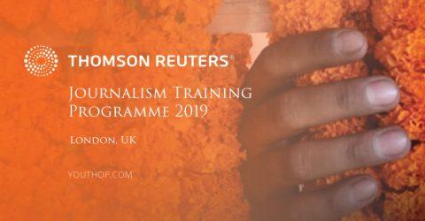 Reuters Journalism Training Program 2019 in London, UK
