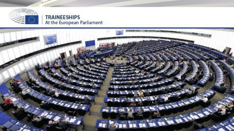 2020 Traineeships with Members of the European Parliament