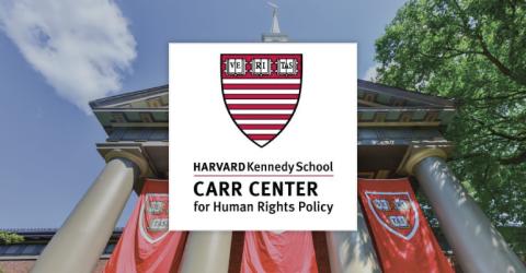 Tech+Human Rights Fellowship at Harvard Kennedy School