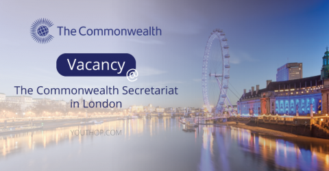Vacancy at the Commonwealth Secretariat in London- Assistant Programmes Officer (Caribbean Region)