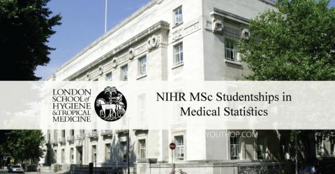 2019 NIHR MSc Studentships in Medical Statistics in UK