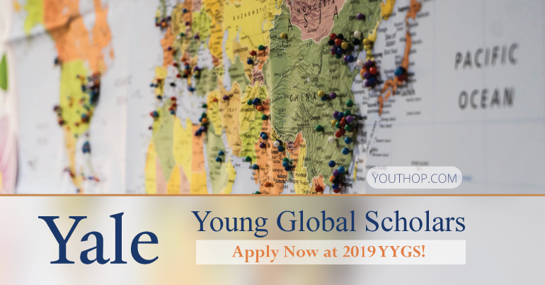 2019 Yale Young Global Scholars (YYGS) Programme