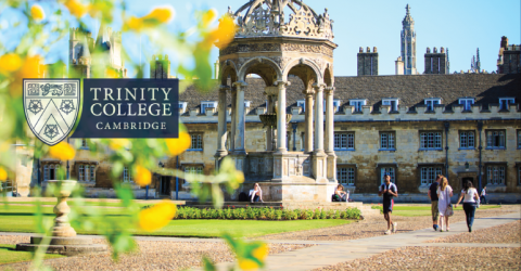 Graduate Student Funding Awards 2019- Trinity College, Cambridge