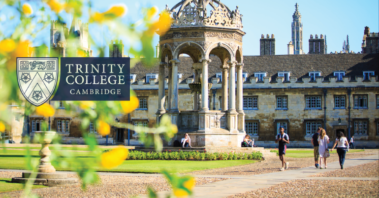 Apply for the Graduate Student Funding Awards 2019- Trinity College, Cambridge.