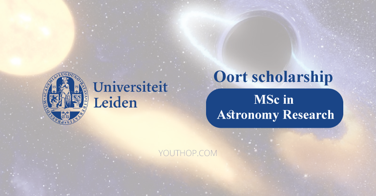 Astronomy Masters Scholarship 2019 at Leiden University, Netherlands