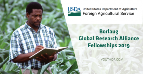 Borlaug Global Research Alliance Fellowships 2019